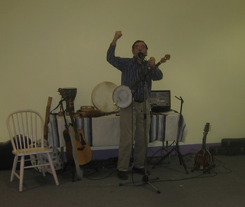 Songs and singing games with Roger Tincknell, 6:30-7:30pm