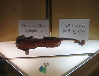 """Pet an Instrument and hear its story told by our talented friends the Holyoke Civic Symphony"""