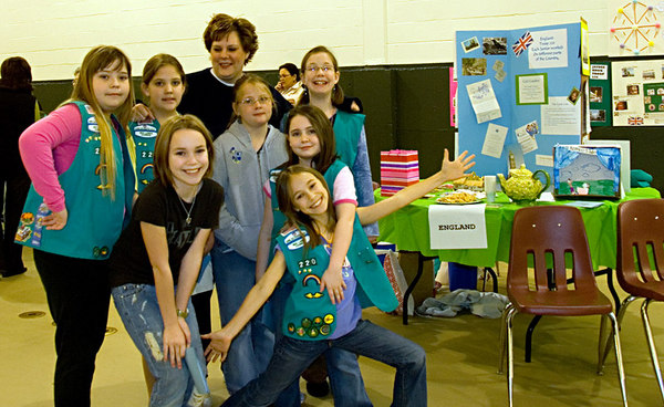 Feb 24 - Girl Scouts Thinking Day