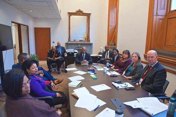 February 06, 2020 - Mayor's Office of Criminal Justice (MOCJ) Team Visit