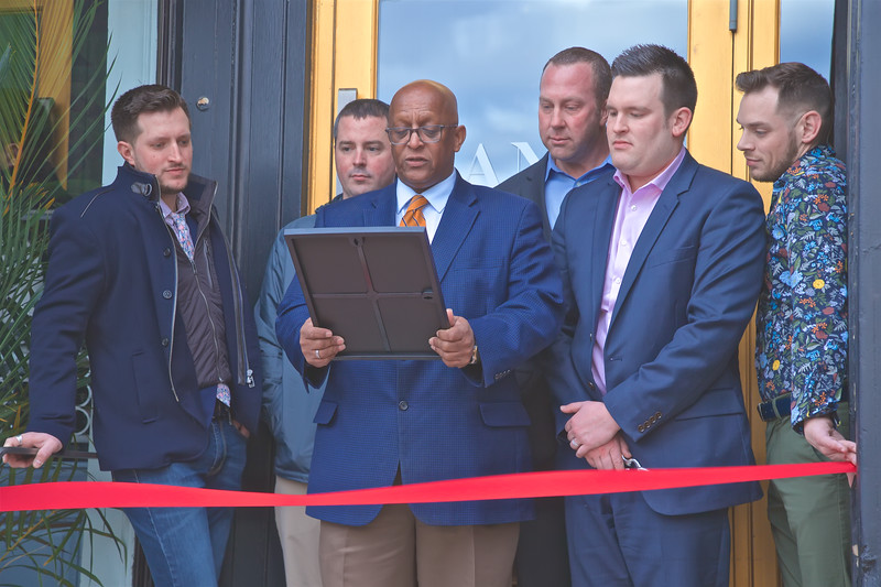 February 07, 2020 - Grand Opening & Ribbon Cutting for the Manor Restaurant & Ultra Lounge