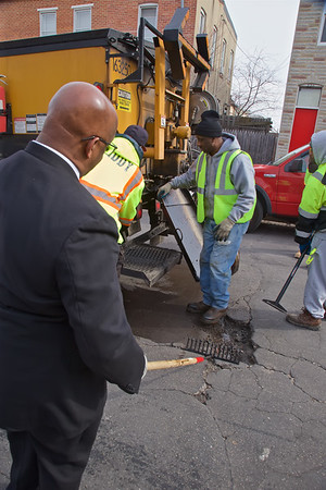 February 12, 2020 - Mayor's Pothole Challenge Press Conference