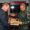 Office Call with the Commander in Chief of the Royal Thai Army