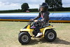 Cortney - Quad Biking with great natural style, occasionally with only three wheels on the ground! Schumy had better watch out, she could be the next Stig!