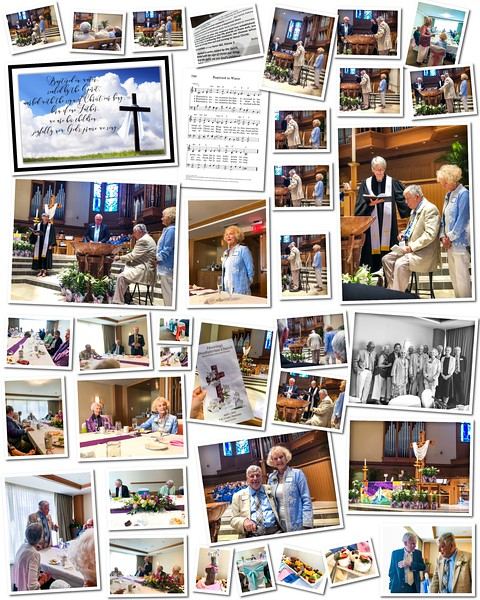 Ferris Baptism & Brunch Collage 8X10 - Easter Day 2018