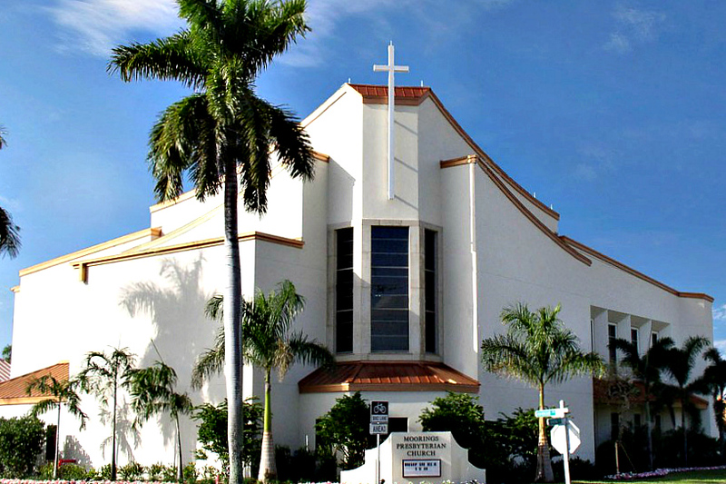 Moorings Presbyterian Church (photo from the web)