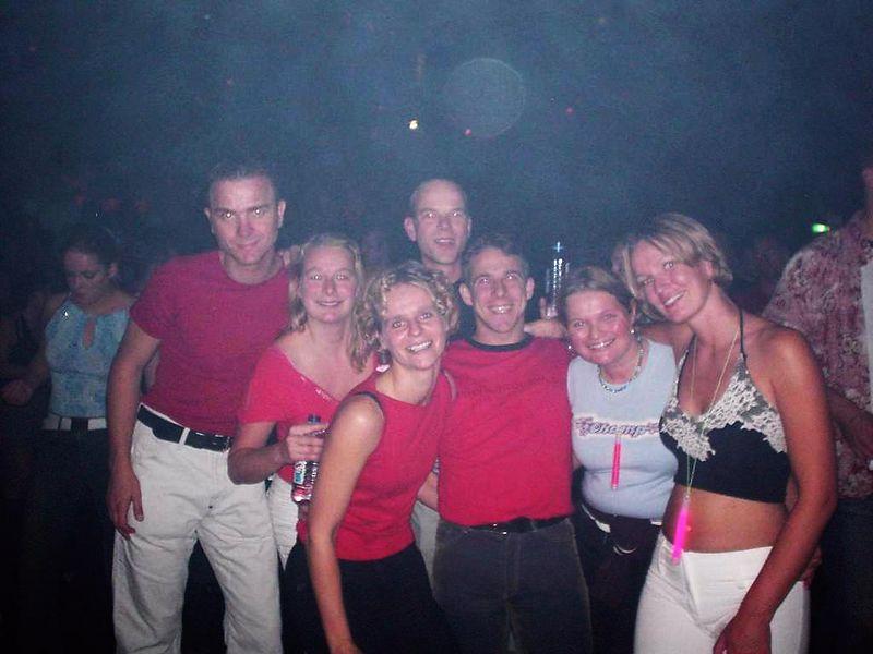 The whole group: Sjoerd, Femke, Astrid, Martin, me, Antonique and Petra