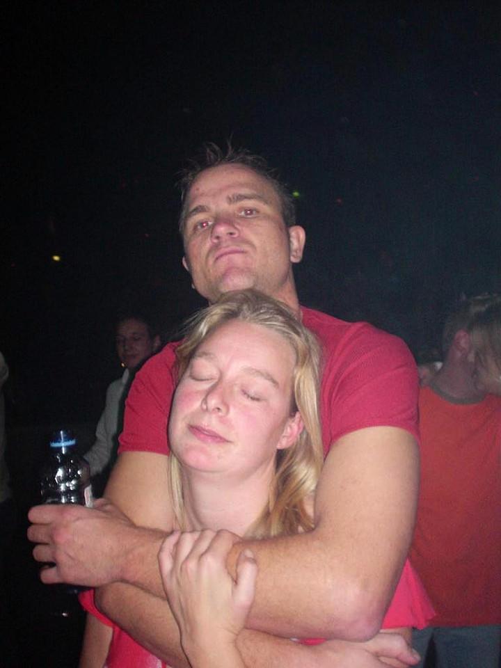 Sjoerd (aka Hugbear) and Femke