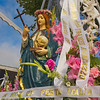 Statue at the Festa Italia Santa Rosalia, Monterey California, Sept 2010