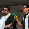 Tony DiMelfi and Marco Capoccia with the Ray Massa Band