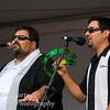 Tony DiMelfi and Marco Capoccia with the Ray Massa Band