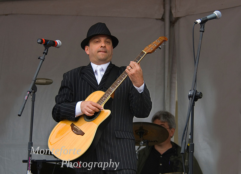 Anthony (Lane) Cotroneo playing at the Festa Italia Santa Rosalia, Monterey Ca. Sept 2010