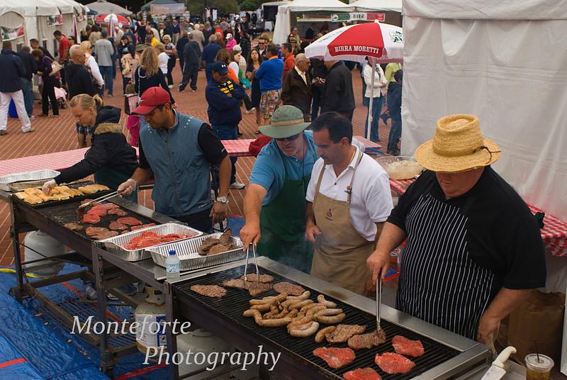 Sandwich booth Festa Italia Monterey Ca 2010