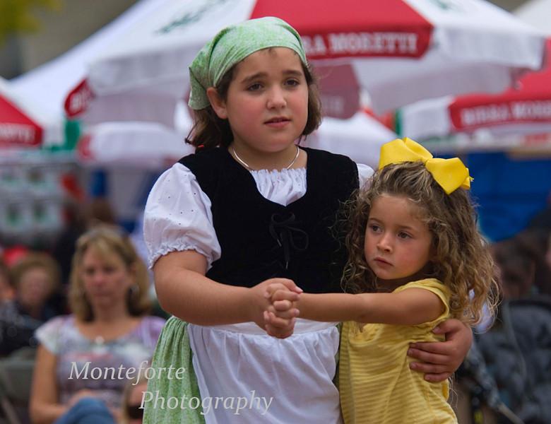 Tarantella Dancers, Festa Italia Santa Rosilia, Monterey California