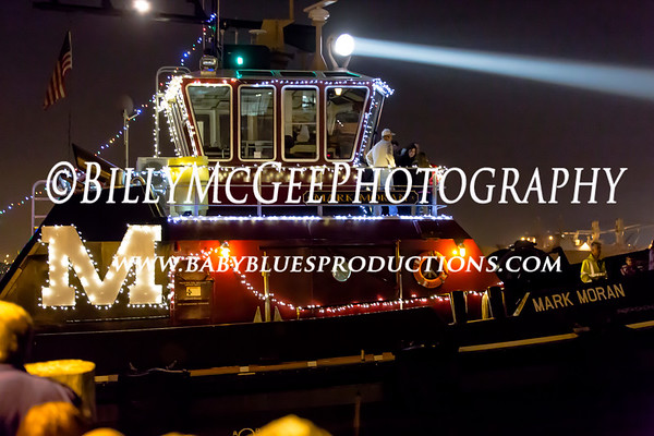 Fells Point Parade of Boats - 01 Dec 2012