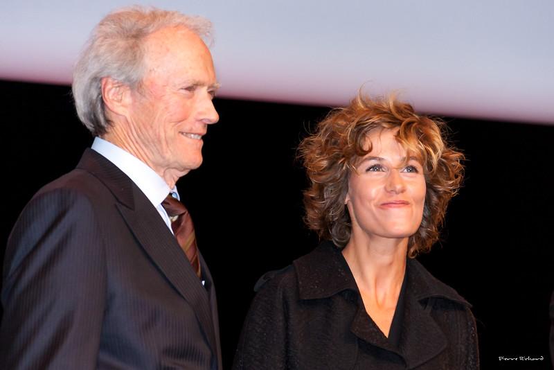 Clint Eastwood et Cécile de France