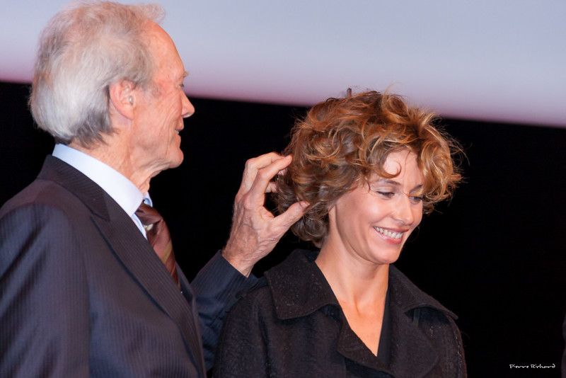Clint Eastwood et Cécile de France