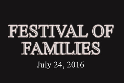 festival of families text