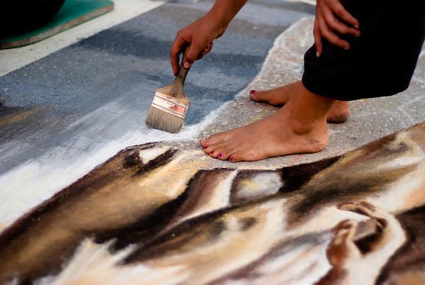 Chalk Feet