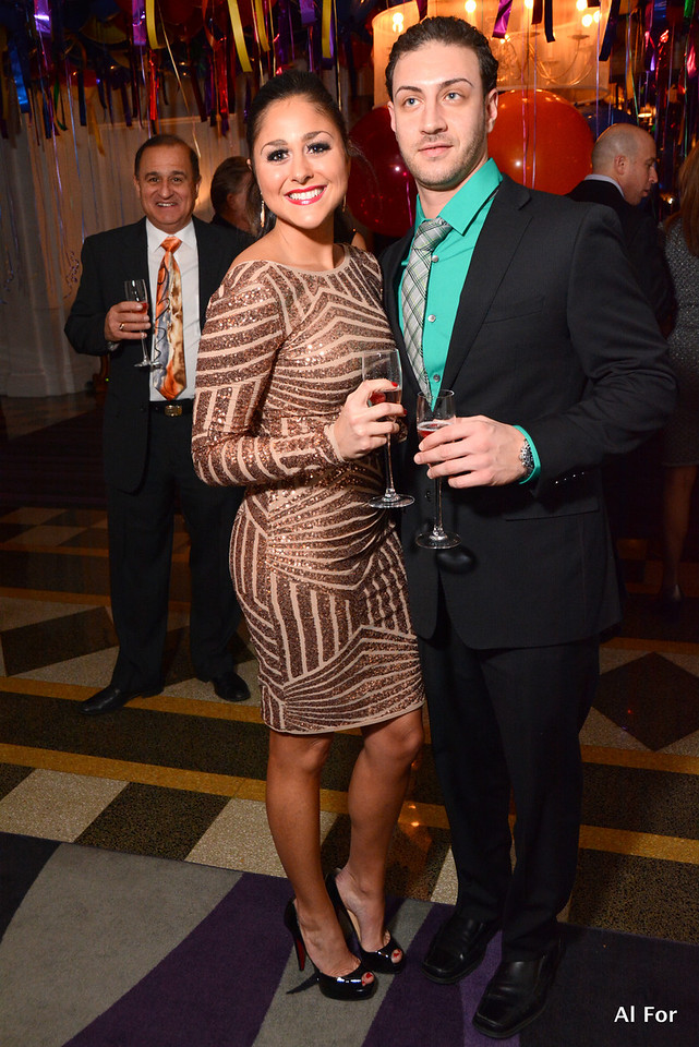 Christina Paglion-Lower Bucks and George Armelinos- South Jersey (Dec 31, 2013 NYE 2013 at Down Town Club by Cescaphe)