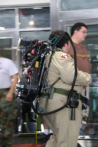 Ghostbusters were there!
