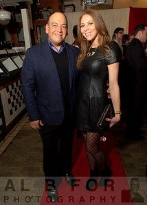 Jimmy Contreras (jimmy@vlahospr.com) with Kristin Detterline (Editor-in-Chief of Philadelphia Style Magazine).  The Valentine to the Market Gala, Saturday, February 23, 2013.  ( Al B. For / Philly.com )