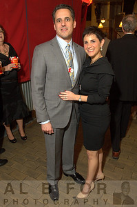 David and Jamie Yadgaroff (Penn Valley).  The Valentine to the Market Gala, Saturday, February 23, 2013.