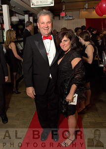 Michelle Shannon (Vice President of Marketing and Communications at the CCD) with husband, Bruce Shannon.  The Valentine to the Market Gala, Saturday, February 23, 2013. ( Al B. For / Philly.com )