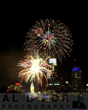 July 4, 2014 Philly 4th of July, West Philadelphia, Belmont Plateau