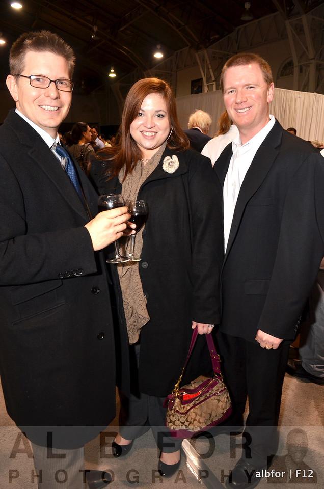 Christian Molnar, Lynette Thomas and Chris Sharkoski