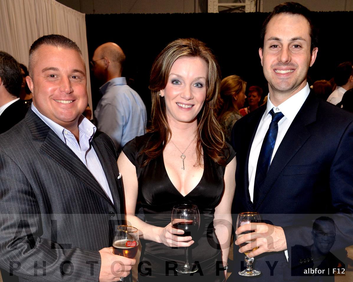 Dan Morris, Maureen Armstrong and Dan Segal