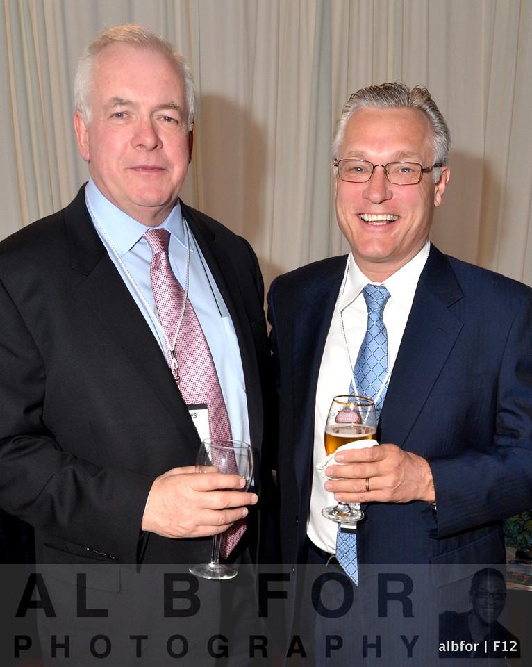 Pat Vaughan and Bob Page
