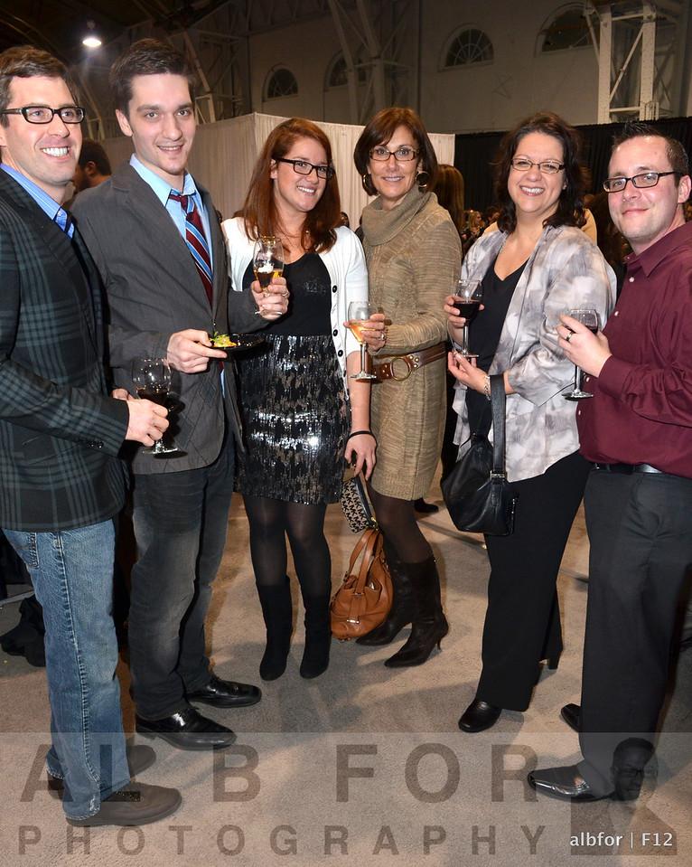 Brian Atamton, Josian Andrews, Vanessa Holman, Susan Barnhart, Natalie Sherchik and Michael Niedbalsi