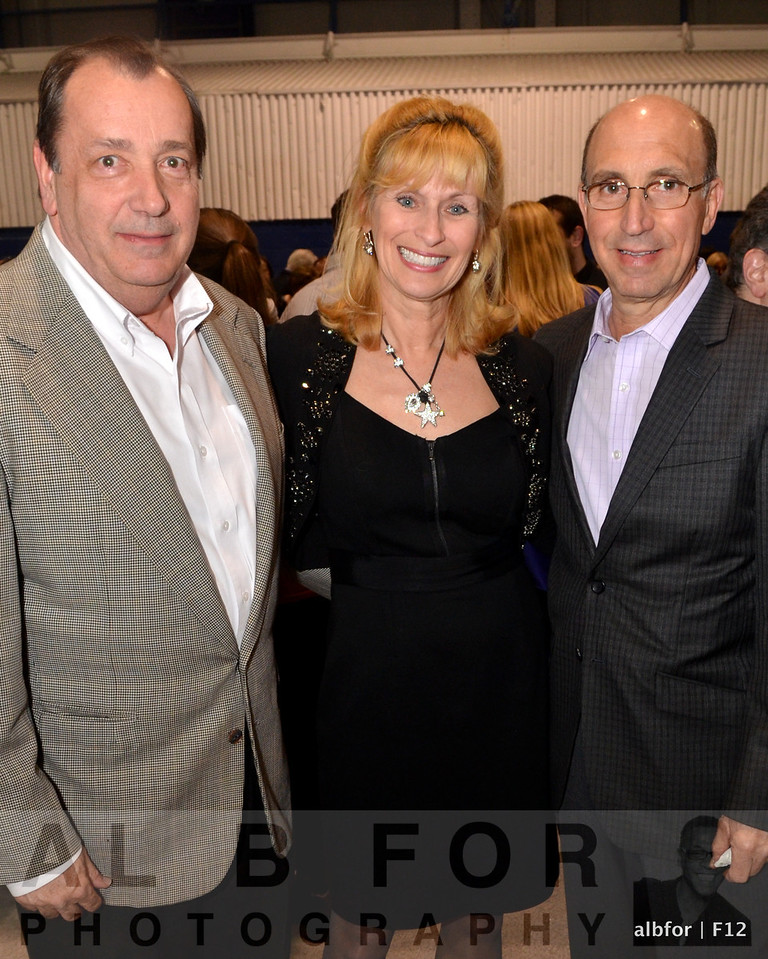 Chuck Schaffer with Marian and Frank Conicellie