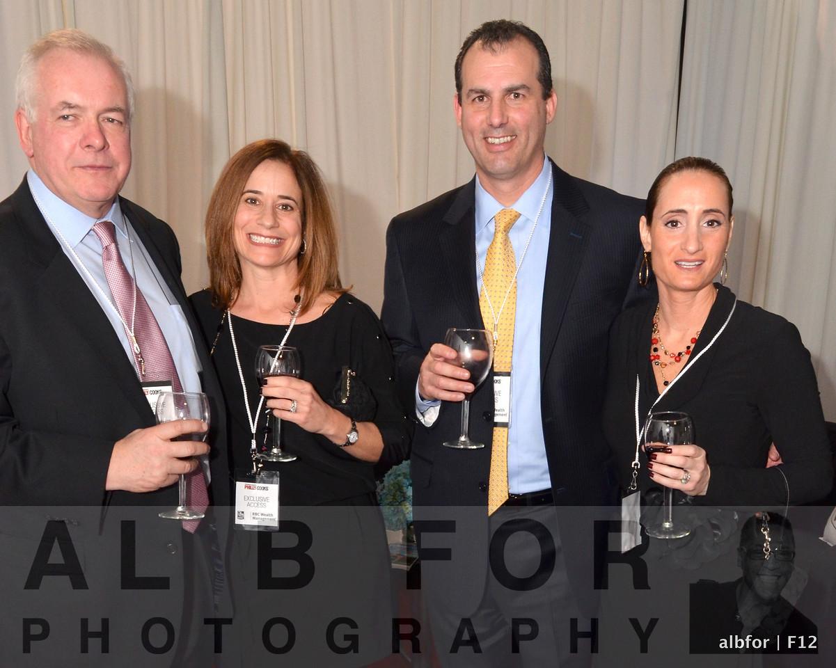 Pat Vaughan, Lisa Gigliotti, Scott & Karen Geniccola