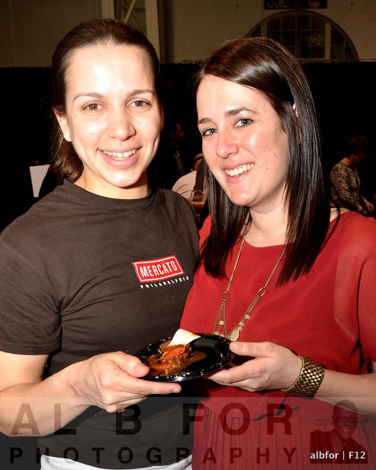 Christina Wilson and Emily Brown Mercato