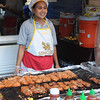 The smell from this vendor's food was amazing.  The restaurant is also one of my Chicago favorites, near River North.