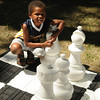 They had lawn chess out for those that didn't want to sit and play.