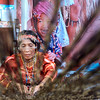 Bagobo woman weaves native tinalak cloth
