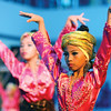 DAVAO. Children from the Cesario Villa Abrille Elementary School perform during the preliminary elimination of Sayaw Mindanaw on Tuesday. (King Rodriguez)