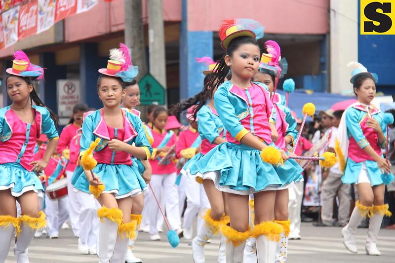 Pamulak float parade during Davao City's Kadayawan Festival 2013. (Daryl D. Anunciado photo/Sunnex)