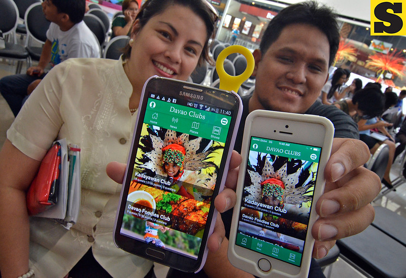 Lifebits Davao Clubs mobile app