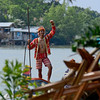 Matigsalog tribesman joins Kadayawan Festival 2014 fluvial parade