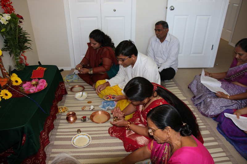 Bath Ceremony of Krishna
