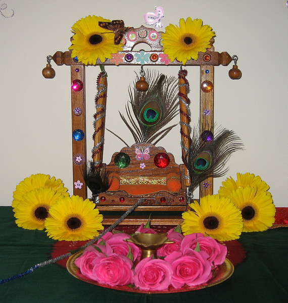 1.Swing for Little Lord Krishna