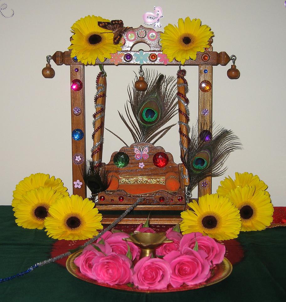 1.Swing for Little Lord Krishna