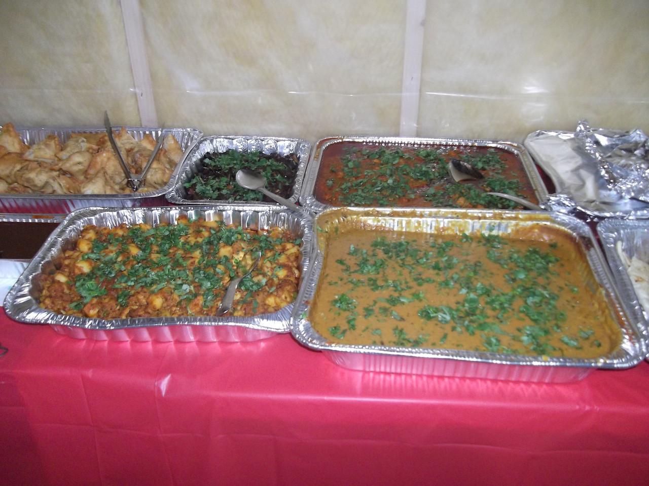 Food for Evening Prasadam