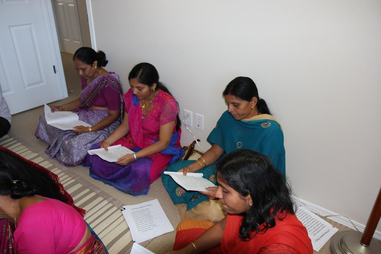 Chanting Vishnusahastranama