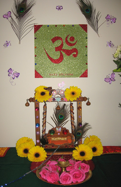 2. Swing for Little Lord Krishna