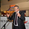 Centre Manager Seán Aylward addresses the crowd at the launch of Nutgrove Arts Fest 2013.<br /> <br /> An Cathaoirleach Cllr Carrie Smyth launched Nutgrove Arts Fest 2013 on Thursday 26 September 2013. The event took place from 6.30pm to 8.30pm and included Musicians Shannen Byrne & Michéal Smith from Kicking Bird, The Bastable Warren School of Irish Dancing, Bollywood Dance Dublin, Independent Theatre Workshop and RUGS Ukelele Band.